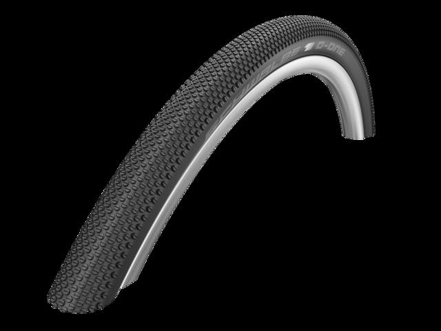 "SCHWALBE G-ONE Allround Bike Tire 28"", TubelessEasy Evolution, foldable black"